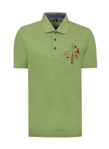 D'S Damat Tişört Yeşil